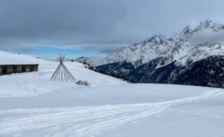 Plus vous montez en ski de randonnées, plus vous trouverez paix et sérénité! #lescontamines #skimo #grandhoteldesalpeschamonix